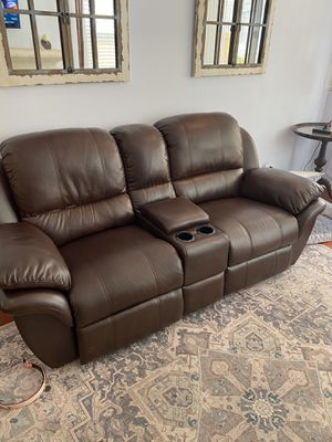 Couch with two recliners. for Sale in Mission Viejo, CA