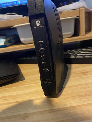 Motorola SURFBOARD Cable Modem for Sale in Parker, CO