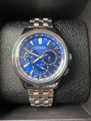 Men's Blue Face Citizen Eco-Drive Watch for Sale in Farmers Branch, TX