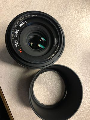 Carl Zeiss Planar 1.8/32 Lens for Sony for Sale in Federal Way, WA