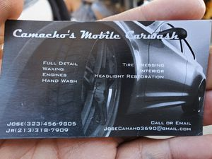 Camacho's mobilecarwash and detail for Sale in Los Angeles, CA