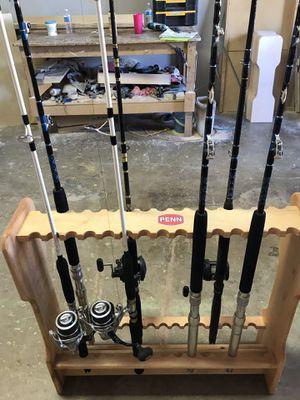 Fishing Rod Holders (Custom) for Sale in Houston, TX