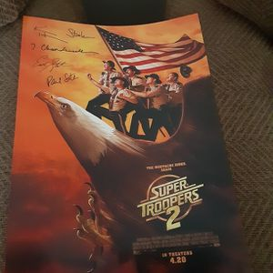 Special Edition Super Troopers 2 Movie Poster for Sale in West Columbia, SC