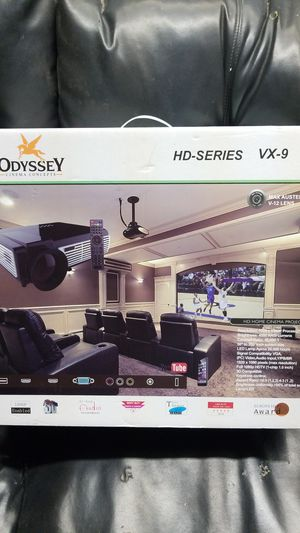 BNW theater system & Odyssey Cinema Projector with screen for Sale in Odessa, TX