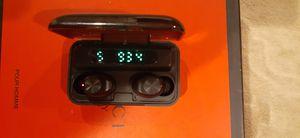 TWS F9. 5.0 TRUE WIRELESS BLUETOOTH HEADSET for Sale in Mansfield, MA