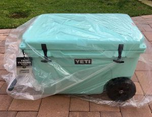 Yeti tundra haul cooler with wheels brand new for Sale in Lucerne Valley, CA