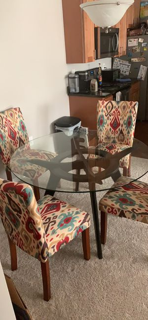 Kitchen table with 4 chairs for Sale in Centreville, VA