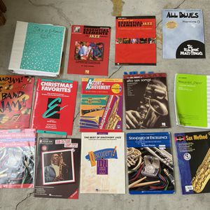 Alto Saxophone Books. for Sale in St. Petersburg, FL