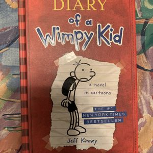 Diary Of A Wimpy Kid By Jeff Kinney Hardback Book for Sale in Centreville, VA
