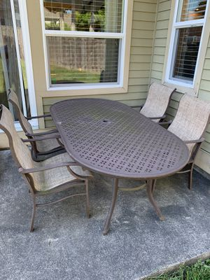 Outdoor furniture set -11 piece for Sale in Tacoma, WA