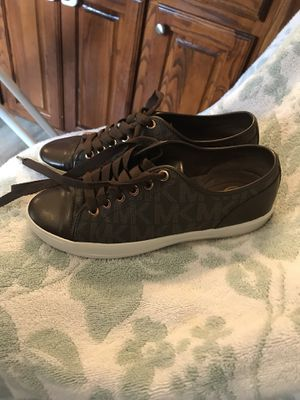 Michael Kors Ladies Sneakers size 7 for Sale in Harker Heights, TX