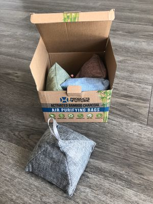 Bamboo charcoal air purifying bags for Sale in Tampa, FL