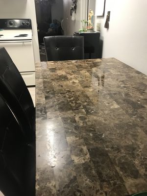 Dining table with 6 chairs ! for Sale in El Cajon, CA