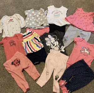 70 piece lot 3-6 months (baby girl) for Sale in Fresno, CA