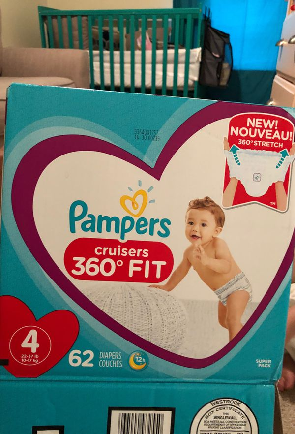 Pampers 360 size 4