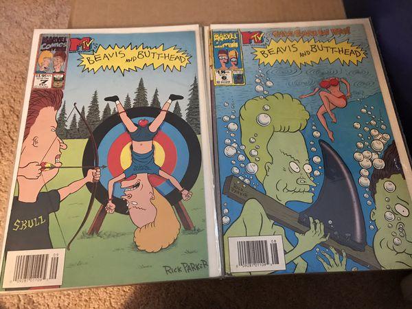 12 beavis And butthead marvel comic books