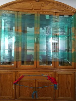 Oak wood China Cabinet for Sale in Detroit, MI