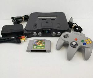 Nintendo 64, N64 System / Console Bundle + Cables + Controller + Super Mario 64 for Sale in Struthers, OH