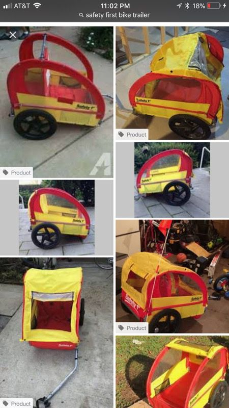 Safety first bike trailer for Sale in Willowbrook, IL - OfferUp