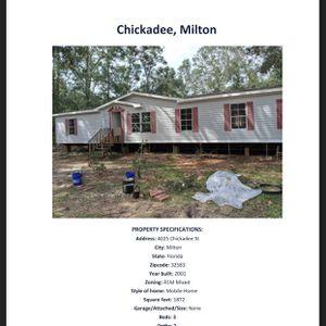 Mobile Home For Sale Milton Florida for Sale in Milton, FL