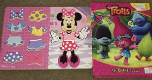 Minnie Mouse and Trolls for Sale in Arlington, TX
