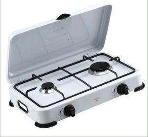 Premium Portable 2 Burners Propane Gas Stove Camping Patio Cocina de Gas Propano Portátil Campamentos Terrazas PPS21 for Sale in Miami Springs, FL