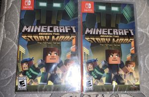 Minecraft-Nintendo Switch ( story mode ) for Sale in Boston, MA