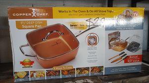 Copper chef square pan for Sale in Dallas, TX