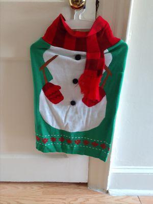 XL snowman dog sweater for Sale in Philadelphia, PA