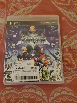 Kingdom Hearts 2.5 PS3 for Sale in Bellflower, CA