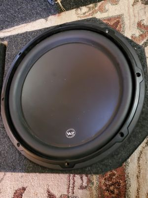 Jl 12w3 subwoofer for Sale in Edgewood, MD
