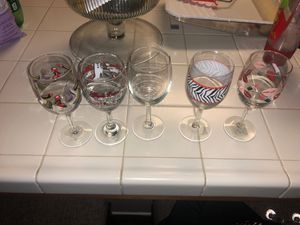 Wine glasses for girls night! for Sale in Fowler, CA