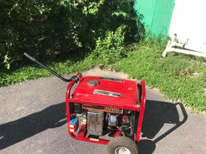 Generator 4000 watts for Sale in Fitchburg, MA