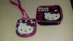 Hello kitty purse and lunch box for Sale in Catonsville, MD