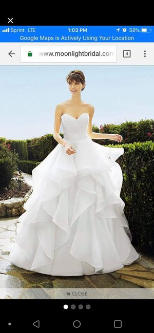 Size 8 ball gown wedding dress for Sale in Calera, AL