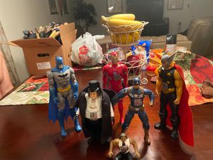 Legend figures range 10-15 good condition for Sale in Channelview, TX