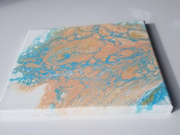 Original abstract art 8x10 only one available!