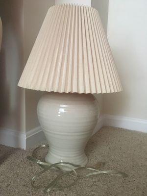 Off-white lamp for sale for Sale in Alexandria, VA