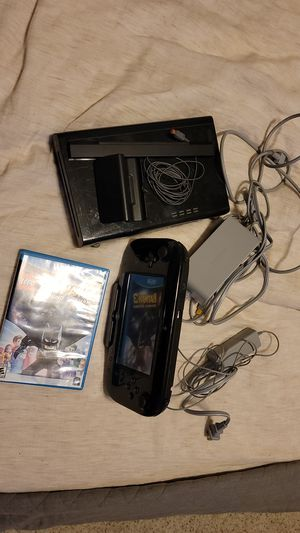 Nintendo Wii u with one game for Sale in McHenry, IL