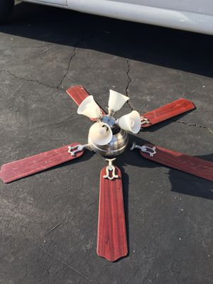 Selling light fixtures fan for Sale in Arlington, VA