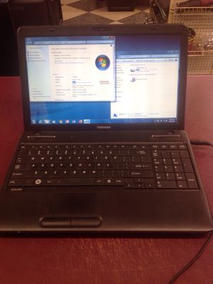 "Toshiba 15"" windows 7 laptop DVD/CD - PRICE IS FIRM for Sale in Columbus, OH"
