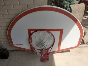 Porter aluminum basketball hoop and backboard for Sale in Arvada, CO