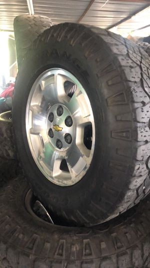"""Chevrolet 17"""" wheels and Tires for Sale in San Antonio, TX"""