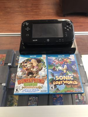 nintendo Wii U bundle for Sale in Los Angeles, CA