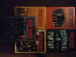 The sopranos seasons 1-5 for Sale in Lakeland, FL
