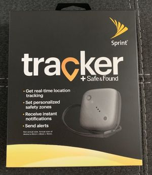 Tracker + Safe and Found for Sale in Port Arthur, TX