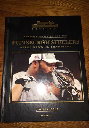 Special collectors edition -Pittsburgh Steelers Book for Sale in St. Louis, MO