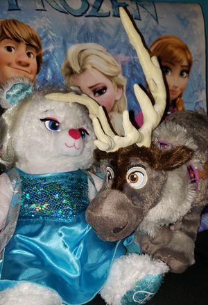 Build-A-Bear Frozen Elsa Amazon Sven for Sale in Los Angeles, CA