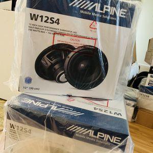 "Alpine 12"" Subwoofers for Sale in San Bernardino, CA"