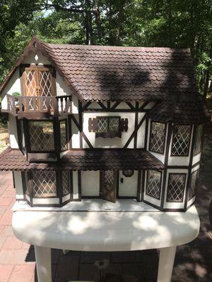 English Tudor Doll house & furniture for Sale in Hammonton, NJ